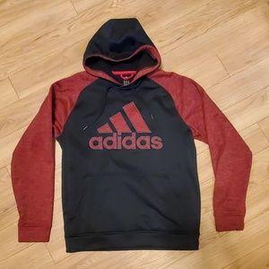 Adidas Climawarm hooded sweatshirt.  Size M